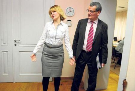 Jelena Trivan i Radoš Ljušić