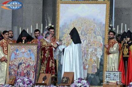 Kanonizacija jermenskih mučenika