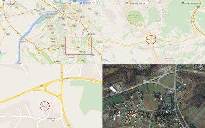 Mapa mjesta održavanja Sabora