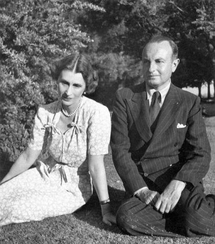 Pavle i Olga u Johanesburgu 1946. godine