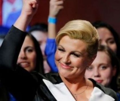Predsjednik Hrvatske Kolinda Grabar-Kitarović