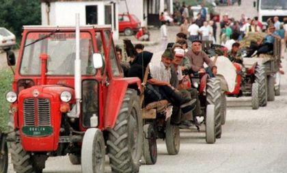 Kolona srpskih izbjeglica