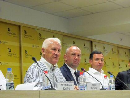 Konferencija za novinare Fondacije Sveti Aleksandar Nevski