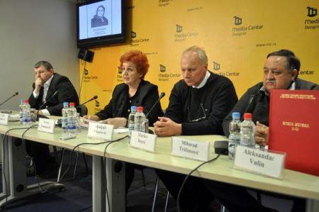 Konferencija za novinare povodom 15 godina od osnivanja udruženja Porodica kidnapovanih i nestalih Srba sa Kosova i Metohije.