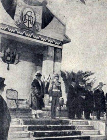 Dolazak kraljevskog para (Aleksandar i Marija Karađorđević) u Split, 1925.g.