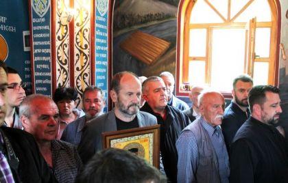 Liturgija i pomen u spomen kapeli u Starom Brodu