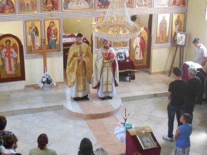 Liturgija u crkvi Svetog Proroka Ilije