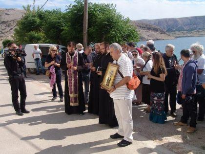 Metajna - Ortodox church procession