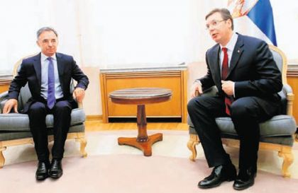Milorad Pupovac i Aleksandar Vučić