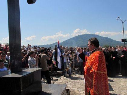 Na bratunačkom groblju služen parastos za oko 3500 ubijenih Srba