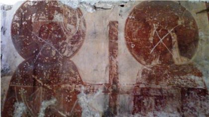 Oskrnavljene freske u crkvi Svete Paraskeve