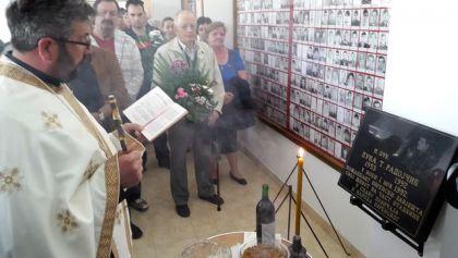 Освећење спомен собе погинулим припадницима ВРС у Добоjу