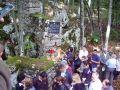 Parastos i polaganje vjenaca kod Šaranove jame, na planini Velebit kod Gospića 26. juna 2010 godine