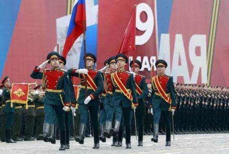 Veličanstvena vojna parada u Moskvi povodom 9.maja - dana pobjede nad fašizmom