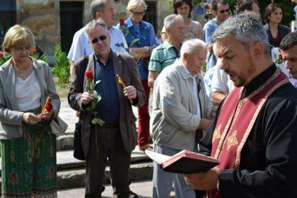 Parastos stradalim Srbima u glinskoj pravoslavnoj crkvi