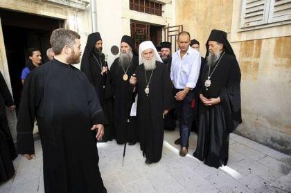 Patrijarh Irinej u Zadru