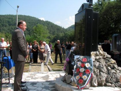 Commemoration at Kukavice, near Rogatica