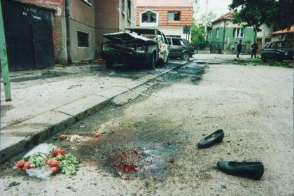 Poslije zločinačkog NATO bombardovanja Niša 1999.