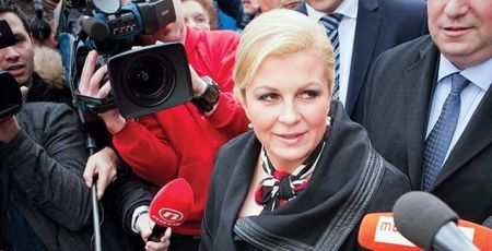 Предсjедник Хрватске Колинда Грабар Китаровић