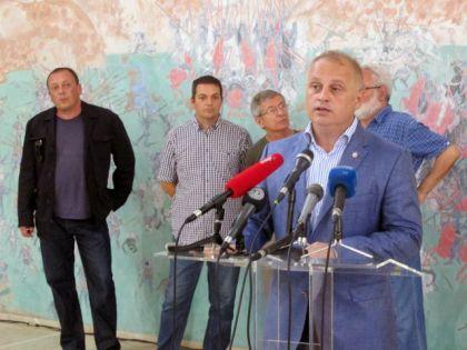 Predsjednik Odbora za podizanje spomenika Goran Vesić