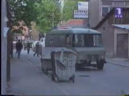 Presretnuto sanitetsko vozilo JNA