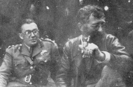 Pukovnik Bejli u štabu četničkog pokreta