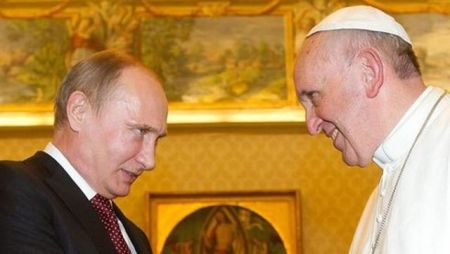Vladimir Putin i papa Francisko