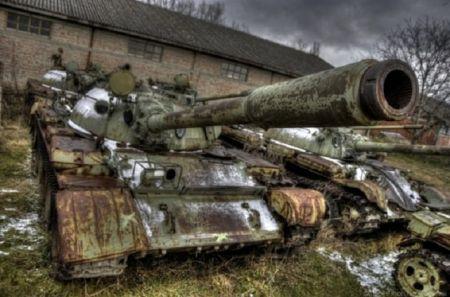 Nemarom uništena oklopna vozila Vojske Srbije
