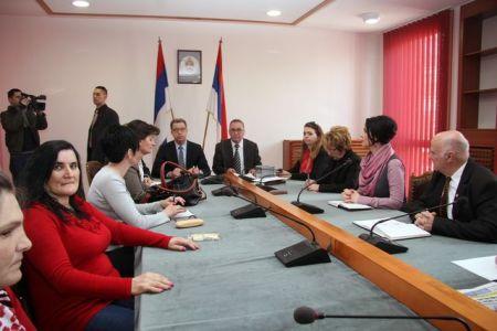Sastanak predstavnika srpskih udruženja sa Seržom Bramercom