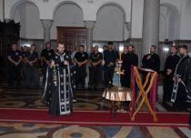 Parastos u Hramu Hrista Spasitelja đeneralu Draži Mihailoviću i borcima JVuO, Foto: Dušan Borković