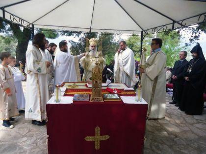 Služena liturgija i parastos za jermenske mučenike
