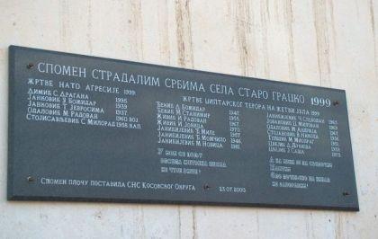 Spomenik stradalim srpskim žeteocima i žrtvama NATO agresije iz Starog Gracka