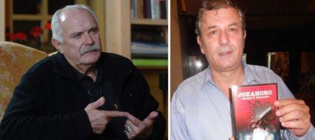 Nikita Mihalkov i Veselin Dželetović