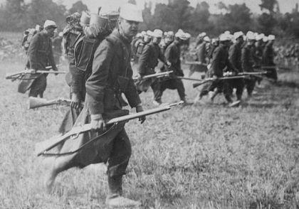 Srpski vojnici 1914.