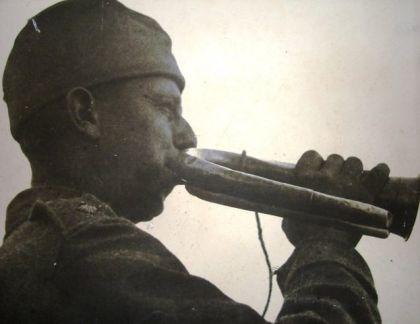 Srpski trubač iz Prvog svjetskog rata