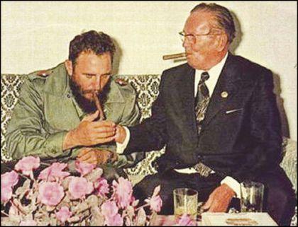 Broz je obožavao kubanske cigare, ali i kubanskog lidera Kastra