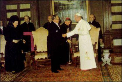 Tito kod pape Jovana Šestog