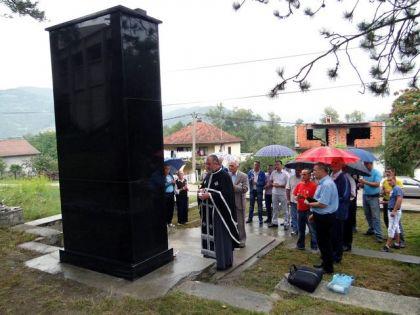 U Drinjači obnovljen spomenik iz perioda NOB-a