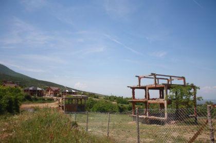 Uništene srpske kuće u Mušutištu