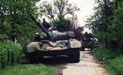 Hrvatska vojska u agresiji na Zapadnu Slavoniju
