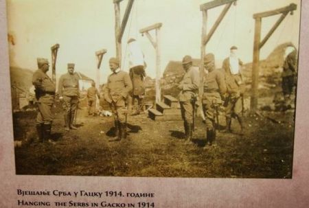 Vješanje Srba u Gacku 1914. godine