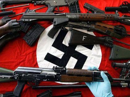 Zaplijenjeno oružje nacista (Foto: spitfirelist.com)