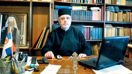 Protojerej Zoran Petrović, starešina ostružničke crkve