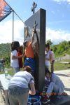 Akcija čišćenja spomen-kompleksa u Bijelom Potoku - Akcija čišćenja spomen-kompleksa u Bijelom Potoku