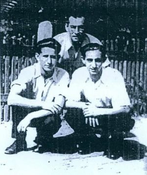 Braća Boroš: Jozef (ubijeni u Jasenovcu), Zoltan (desno) i Ignac (lijevo)