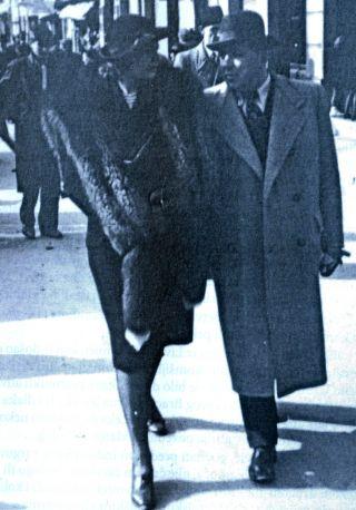 ВЕСЕЛИН НАЕРЛОВИЋ са супругом ПАУЛИНОМ уочи Другог свjетског рата у Сараjеву
