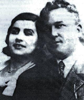 Dr DUŠAN MITROVIĆ, jedna od prvih žrtava u Livnu, sa suprugom RANKOM koja je takođe završila pod ustaškim nožem