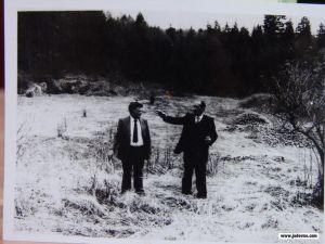 Mjesto logora Jadovno 1990. godine