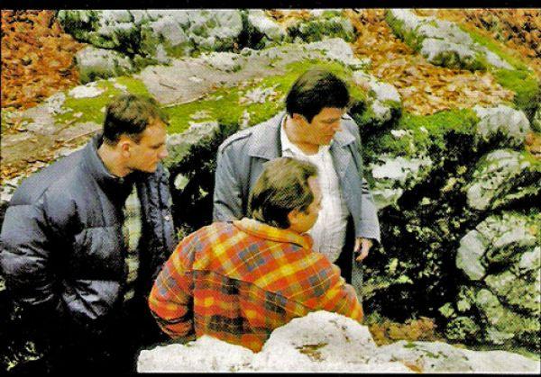 Millan Levar nad Šaranovom jamom | Milan Levar nad Šaranovom jamom
