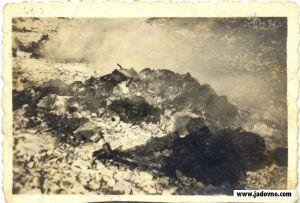Punih deset dana gorjele su, u jesen 1941. Godina, lomače s leševima nesretnih zatočenika Slane.